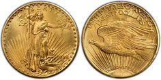 The 1933 Saint-Gaudens Gold Double Eagle. The 1933 Double Eagle sold at auction on July 30, 2002 cost the buyer nearly 7.6 million dollars.
