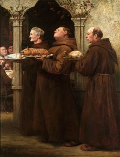 William Strutt  The Prior's Feast