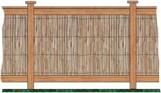 how to build a bamboo fence | How To Make Bamboo Fencing