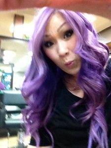 lavender hair  #lavenderhair #purplehair