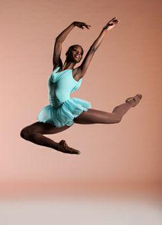 "Ashley Murphy in Robert Garland's ballet, ""Gloria"" Photo:Rachel Neville #ballet #leap"