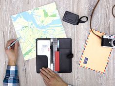 Travel Organizer & Luggage Tag Black - LOST & FOUND accessoires Travel Organization, Lost & Found, Travel Accessories, Caramel, Bags, Accessories, Sticky Toffee, Handbags, Candy