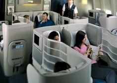 British Airways 747-400 Club World