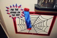 The Party Wall: Spiderman Birthday Party: Games and Activities Birthday Games For Kids, 5th Birthday Party Ideas, Superhero Birthday Party, Ideas Party, Superman Birthday, Teddy Bear Birthday, Unicorn Birthday, Boy Birthday, Birthday Stuff