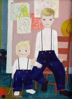 Mary Blair Gallery-portraits of her children