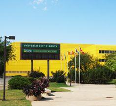 Van Vliet Centre, aka the Butterdome  University of Alberta  Edmonton Alberta Canada