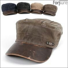Army Cardet Hats Vintage Military Cargo Trucker Caps Cap Hat 4 Color M 8524b74bee