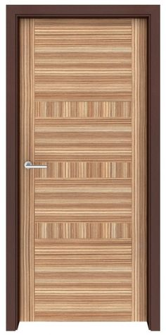 Zebrawood Richmond Interior Door