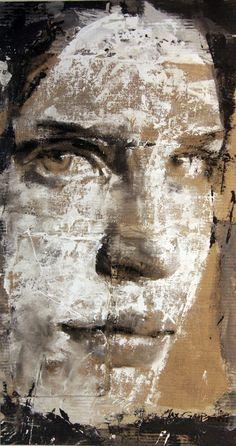 Max Gasparini, distressed cardboard mixed media portrait with dry brush technique Más Pintura Graffiti, Ap Studio Art, Cardboard Art, Mixed Media Artwork, A Level Art, Ap Art, Mix Media, Art Plastique, Portrait Art