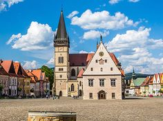 Slovakia.travel Interactive Map, Resort Spa, Tour Guide, Tourism, Mansions, House Styles, Travel, Europe, Cities