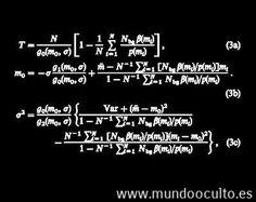 La ecuacion del fin del mundo o el tanque de Valenzetti.