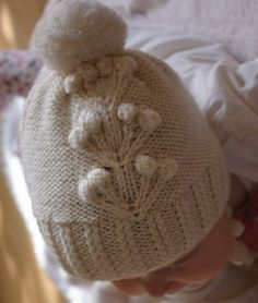 Free November 2017 Only - Knitting Pattern for Kluseczka Hat