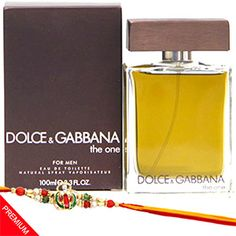 Celebrate this Rakshabandhan by gifting your brother this exclusively designed combo. Rs 4499/- http://www.tajonline.com/rakhi-gifts/product/r4861/dolce-gabbana-perfume/?aff=pint2014/