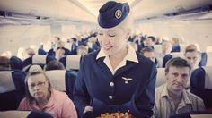 Finnair retro cabin crew