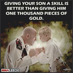 So glad we gave our son the opportunity to learn martial arts ... in part because it gave ME the guts to try it. #kungfu #aweseometeachers #AMAI