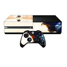 Amazon.com: Skin for Xbox One Sticker Decal for X1 Custom Protective Stickers  Xbox 1 Modded Game Accessories Console Kinect Sensor Vinyl Case Skins and 2  ...