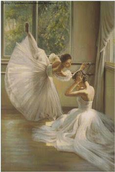 Professione Donna: Schema a punto croce: Ballerina_6