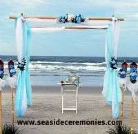 florida beach wedding decor for your Daytona Beach Wedding