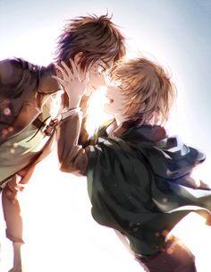 Shingeki no Kyojin: Armin and Eren