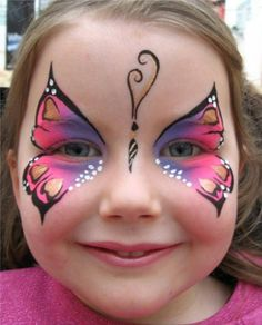 Glasgow Face Painting Company Gallery - Butterfly