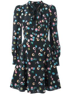 Marc Jacobs licorice print dress