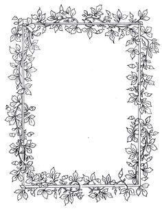 Billedresultat for floral frames and borders