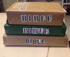 DIY Bible collection