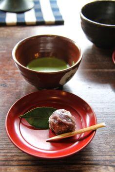 Matcha and tea sweet made of beans | Kurashiki, Japan