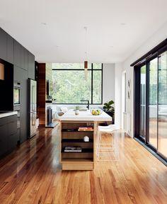 Blackburn House by ArchiBlox - Residential Architecture & Design - VIC Kitchen Interior, Modern Interior, Kitchen Decor, Kitchen Ideas, Interior Design, Kitchen Inspiration, Interior Styling, Residential Architecture, Interior Architecture