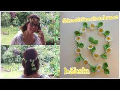 Häkeln Herze Kette Valentinstag Armband Deko süß Geschenk cute - YouTube