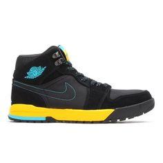 281acc8f6b8297 NIKE AIR JORDAN I TREK BLACK GAMMA BLUE-VARSITY MAZE  sneaker Nike Air