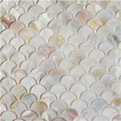 1676 2mm thickness 35x35 inch Mother of Pearl Tile white pearl