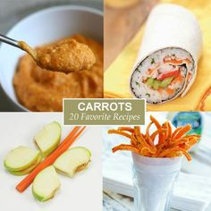 Yummy Carrots: 20 Recipes to Help Your Kids See in the Dark