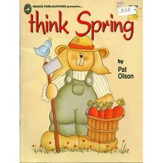 Think Spring Bunny Rabbits Decorative Tole Painting Patterns Olson