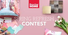 Win a $1,500 shopping spree from Bouclair and a stylist consultation. {{user.share_url}} *Single Entry* Ends 03/29/2016