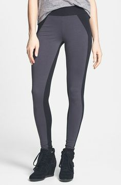 BP. Two-Tone Leggings (Juniors) available at #Nordstrom