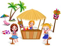 Play Free Online Game Baby Hazel Beach Party On Babyhazelgames We Have Many