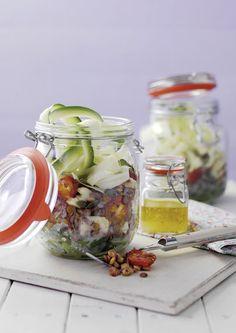 Summer Vegetable Lentil Salad | sheerluxe.com