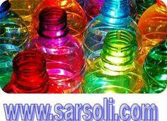 Plastic Bottles Produced using Colour Masterbatch