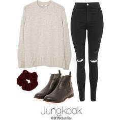 Vintage Shopping with Jungkook by btsoutfits on Polyvore featuring MANGO, Topshop, Boohoo, Miss Selfridge and vintage
