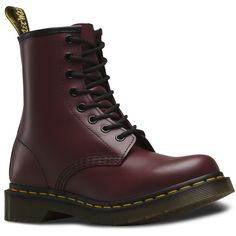Dr. Martens 1460 Lace Low Boot ($125) ❤ liked on Polyvore featuring shoes, boots, ankle booties, cherry red, lace boots, low boots, lacy boots, low booties e dr martens boots