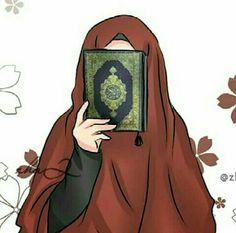 Anime islámico y hijab Muslim Images, Muslim Pictures, Islamic Pictures, Wallpaper Hp, Islamic Wallpaper, Cute Muslim Couples, Muslim Girls, Cartoon Kunst, Cartoon Art