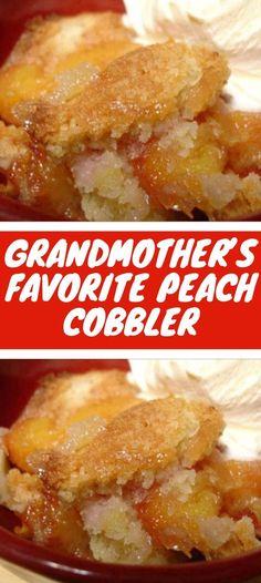 Canned Peach Cobbler Recipe, Peach Cobbler With Bisquick, Peach Cobbler Dump Cake, Peach Cobbler Pound Cake Recipe, Easy Cobbler Recipe, Easy Southern Peach Cobbler Recipe, Blackberry Cobbler, Apple Cobbler, Apple Pie