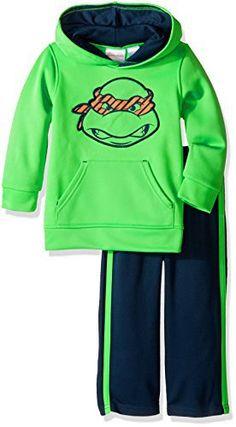 Nickelodeon Boys' Toddler Boys' Teenage Mutant Ninja Turtle Athletic Fleece Hoodie and Pant Set - http://parenting.mugamboglobalresources.com/nickelodeon-boys-toddler-boys-teenage-mutant-ninja-turtle-athletic-fleece-hoodie-and-pant-set/