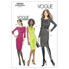 Vogue Patterns | Learn how to #sew a dress | Find #sewing patterns at Joann.com