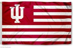 Indiana Hoosier Nation Flag