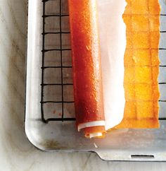 FRUIT ROLL UPS:  all-natural, homemade pumpkin and apple flavor.  YUM!  (using pumpkin puree, applesauce, brown sug and pie spice....spread thin and throw in a 170 oven for 2 hours.)