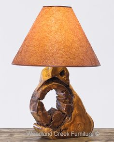 Live Edge Table Lamp