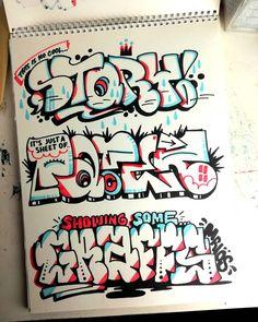 Breakdance © Favorite one? Graffiti Art Drawings, Graffiti Words, Graffiti Lettering Fonts, Graffiti Doodles, Graffiti Writing, Graffiti Tagging, Graffiti Alphabet, Graffiti Styles, Graffiti Wall