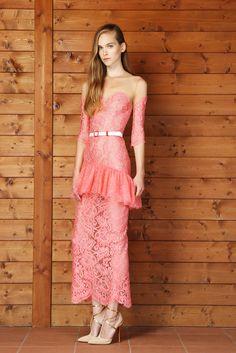 4ff92fc3d338 Alessandra Rich Spring 2014 Ready-to-Wear Fashion Show